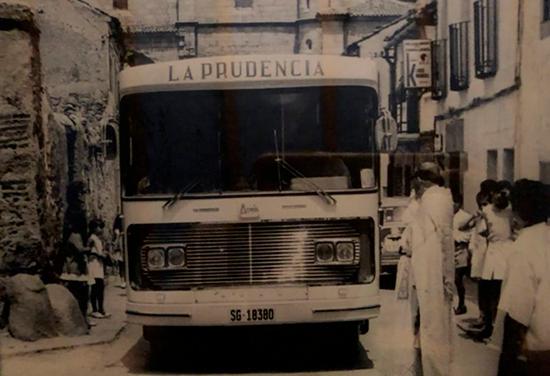 Antigua furgoneta de La Prudencia